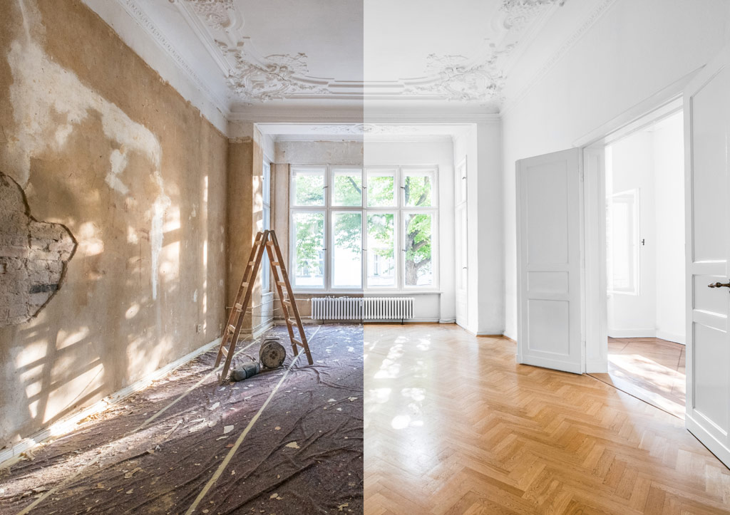 room design before and after